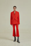 FWN29 Red Suit Blazer