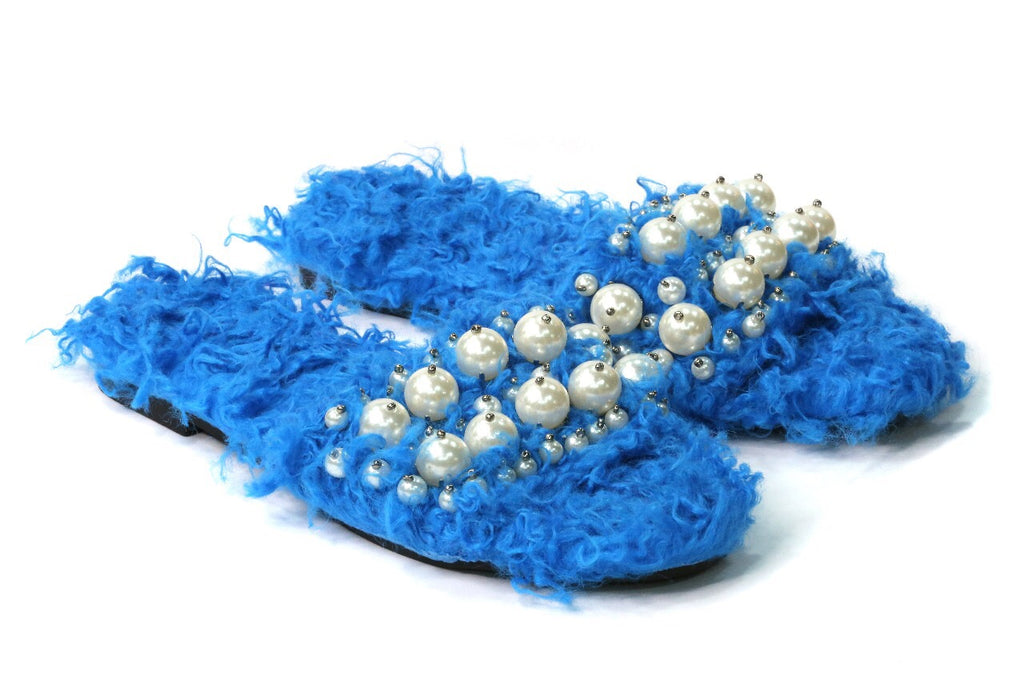 Pearl Slipper Blue