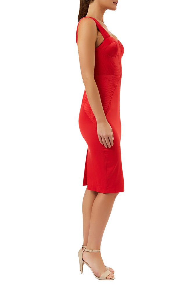 Gia Red Dress