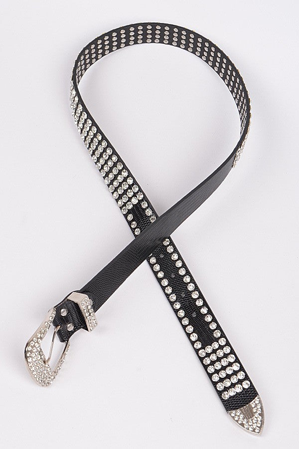 Studded Poly Belt