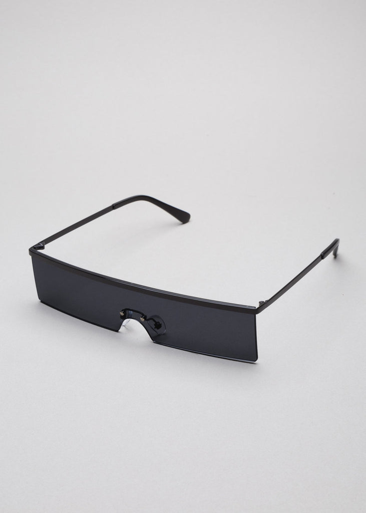 Black Margaret Sunglasses 2
