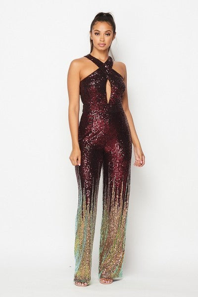 Seeda Sequins Jumpsuit