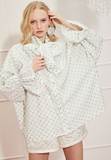 Ace high oversized blouse