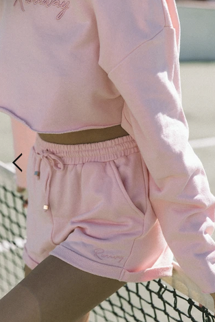 FREE FORM SHORTS-PINK