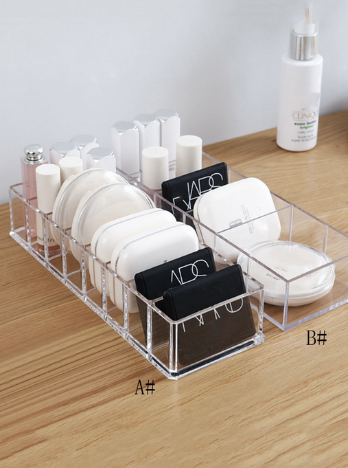1pc Clear Cosmetic Storage Box(B)