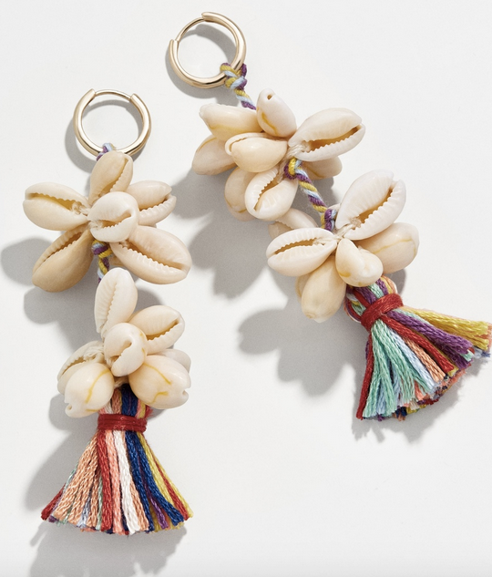 Nalani Drop Shell Earrings