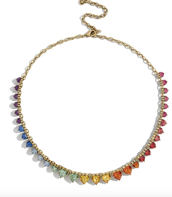 Francina Multi Heart Necklace