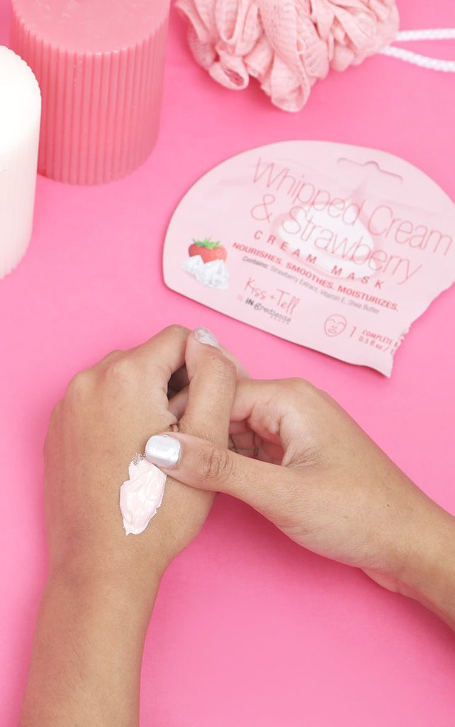 iN.gredients Whipped Cream & Strawberry Cream Mask 1