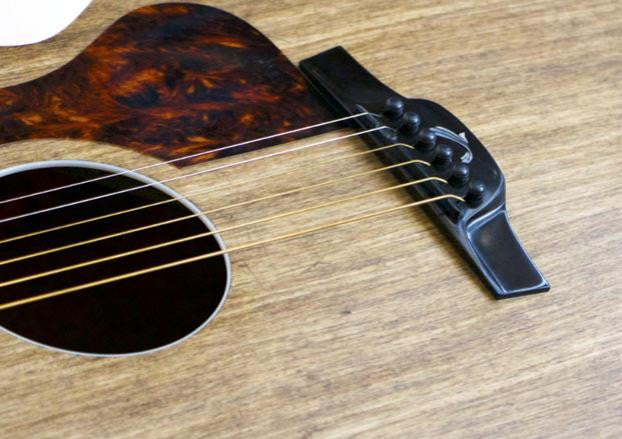 GuitarWorld.com Article: This Composite Guitar Looks Like It's Made of Wood