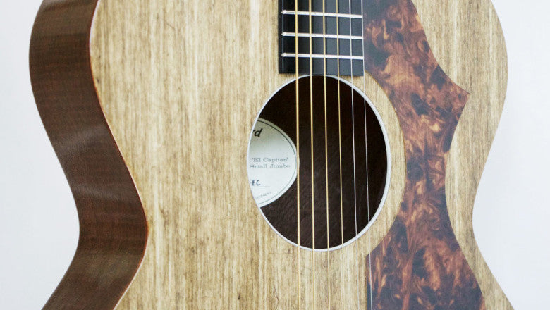 GuitarPlayer.com Article: The El Capitan Acoustic Guitar Is Made of Linen and Industrial-Waste Resin. Really.