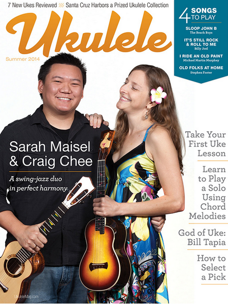 Ukulele Magazine: Blackbird Ukulele Wins Design Award