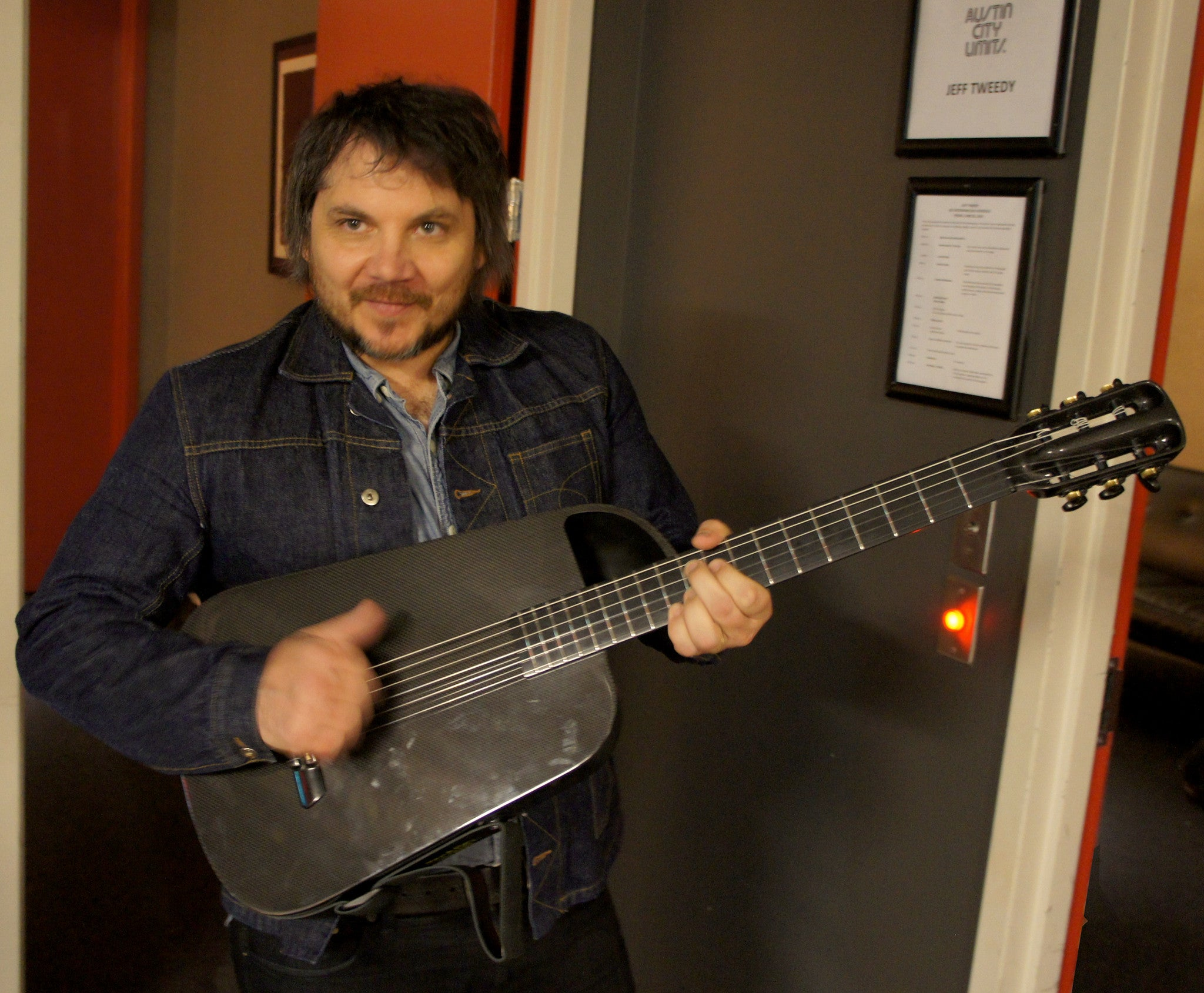 Jeff Tweedy Gets A Blackbird Rider!