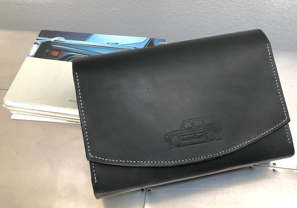 Leather Case for your G-Wagen Operator's Manual