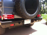 G550 trailer hitch on Gwagen