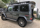 Roof Rack for the 2019 Mercedes G Class installed