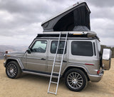 James Baroud Space Roof Top Tent white standard mounted to New Mercedes 2019 G-wagen W463A
