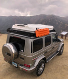 Roof top tent package for New 2019 2020 Gwagen W463 with full length 2.4m low slimline roof rack