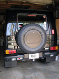 Spare Wheel Cover with Lockable Compartment for Mercedes Gwagen