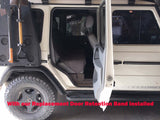 Full 90 degrees Door opening with replacement door band mod Door Retention Replacement Band for a 90° Door Opening (rear passenger doors only)