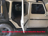 G-wagen door opening without 90 degrees modification