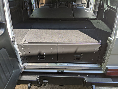 Cargo Drawer Storage System for Merdedes GWagon W463