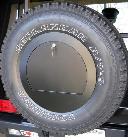 G-Wagen spare wheel compartment cover