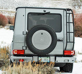 G-Wagen spare wheel cover custom color