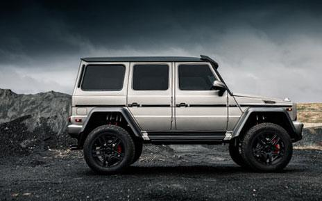 Electric Running Boards for Mercedes Gwagon W463 retractable