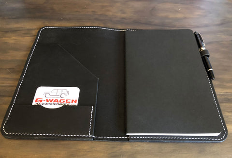Gwagon gift leather journal handcrafted trip journal protfolio