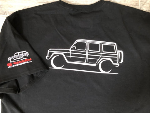 Mercedes G-Wagen t-shirt black G-Class Apparel