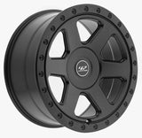 "10"" x 22"" G-wagon Wheel, black"