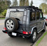 Gwagon all steel rear bumper and roof access ladder