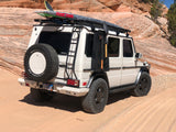 G-class roof access ladder to get to your surf board or sup