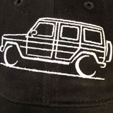 GWagon hat detail embroidery