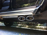G55 exhaust installed with adapter VTS-7270 on G500