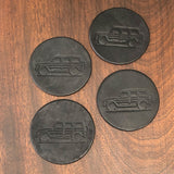 Gwagen home accessories leather coasters gift