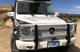 G-class headlight grill for brush guard