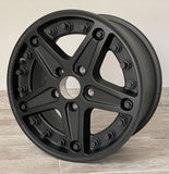 "18"" x 8"" Mercedes GWagon W463 Hutchinson Wheels ET63 Black"