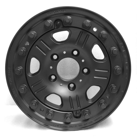 Hutchinson Beadlock Wheel WA-1207 wheel, Black Matte, for W463 G-Wagen