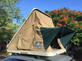 Roof Top Tent Hannibal Impi opened