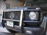 Mercedes W463 with color matched Brush Guard