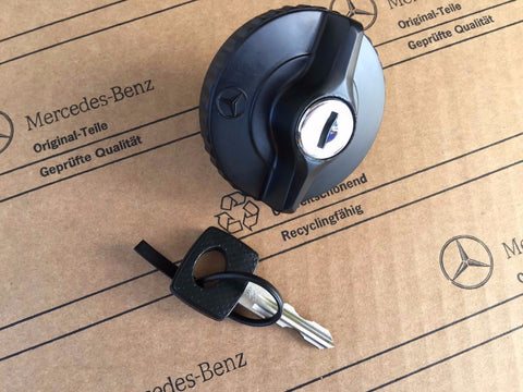 Lockable Gas Cap by Mercedes-Benz for use on the Water Tank