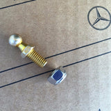 10 mm Ball Stud for added engine hood maintenance position