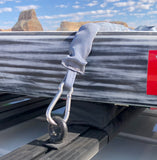 surfboard sup straps short grey for g-class slimline roof rack