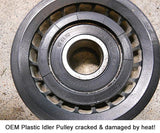 Aluminum Idler Pulley for Mercedes-Benz M113 Series Engines