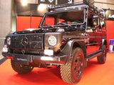 Mercedes W461 with VTS-7126 Offroad Running Boards at Tokyo Auto Show