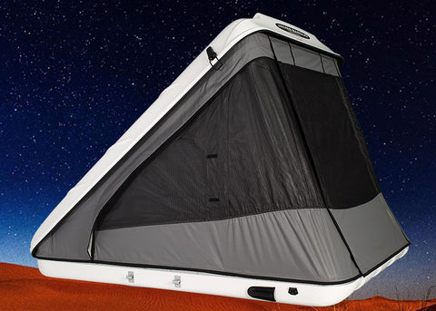 James Baroud Hard Shell Roof Top Tent Discovery White