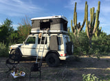 Mercedes G-Wagen Roof Top Tent James Baroud Evasions package incl Slimline 2.4 m roof rack