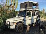 G-Wagen James Baroud Hard Shell Roof Top Tent Evasion Adventure Package