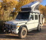 G-Wagen roof rack and James Baroud Space Hard Shell Roof Top Tent Package Discount